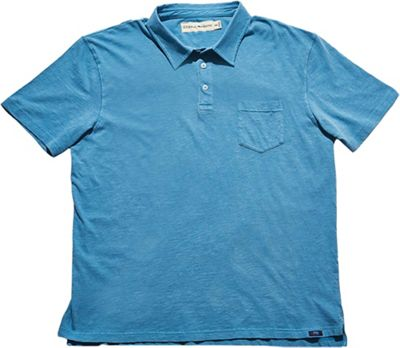 The Normal Brand Vintage Men's Slub Short Sleeve Pocket Polo