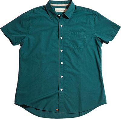 The Normal Brand Men's Yarn Dye Short Sleeve Woven