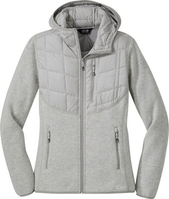 890865eb987 Outdoor Research Women s Vashon Hybrid Full Zip Hoody
