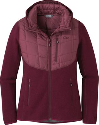 Outdoor Research Women's Vashon Hybrid Full Zip Hoody