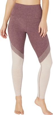 Beyond Yoga Women's Tri Panel Spacedye High Waisted Midi Legging