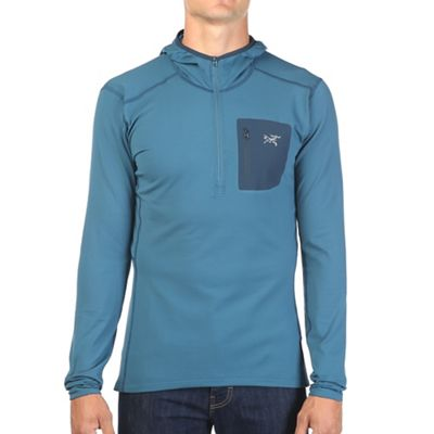 Arcteryx Men's RHO LT Zip Neck Hooded
