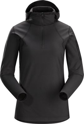 Arcteryx Women's RHO LT Zip Neck Hooded