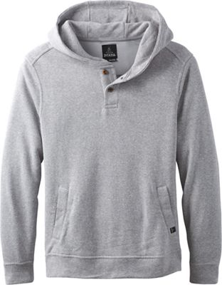 Prana Men's Trawler Hooded Henley Fleece Top
