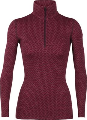 Icebreaker Women's 250 Vertex LS Half Zip Top