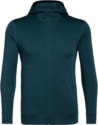 Icebreaker Men's Elemental LS Zip Hood