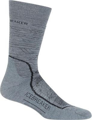 Icebreaker Men's Hike+ Lava Medium Crew Sock