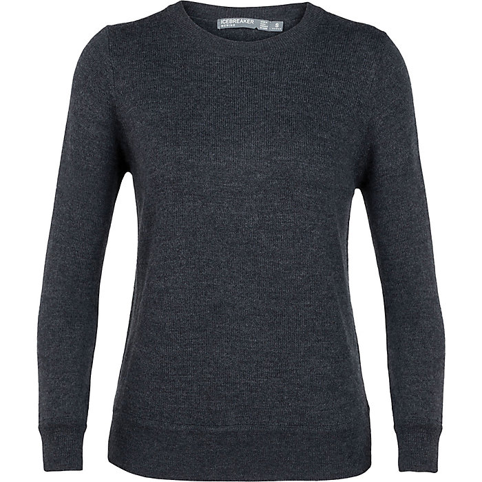 a12f78b703e Icebreaker Women's Muster Crewe Sweater - Mountain Steals
