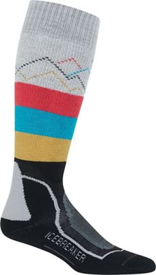 Icebreaker Women's Ski+ Medium Over the Calf GFX Sock