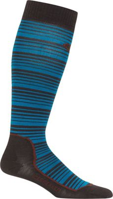 Icebreaker Men's Ski+ Over The Calf Ultra Light Cushion Sock