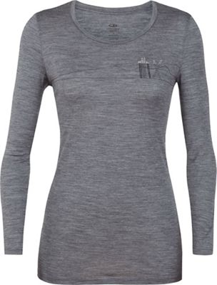Icebreaker Women's Tech Lite LS Low Crewe