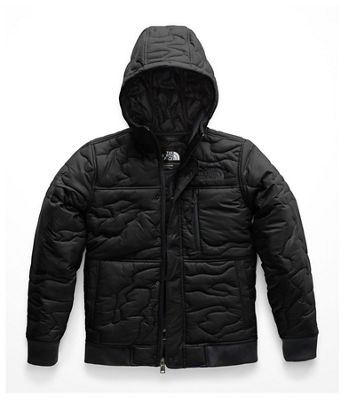 The North Face Kid's Camo Quilt Insulated Hoodie