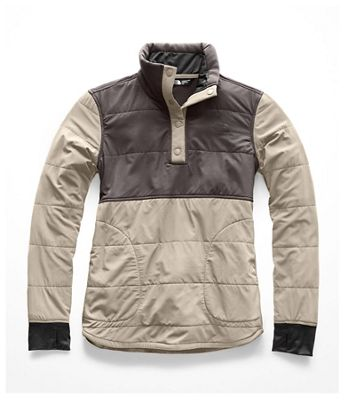 The North Face Women's Mountain Sweatshirt 1/4 Snap Jacket