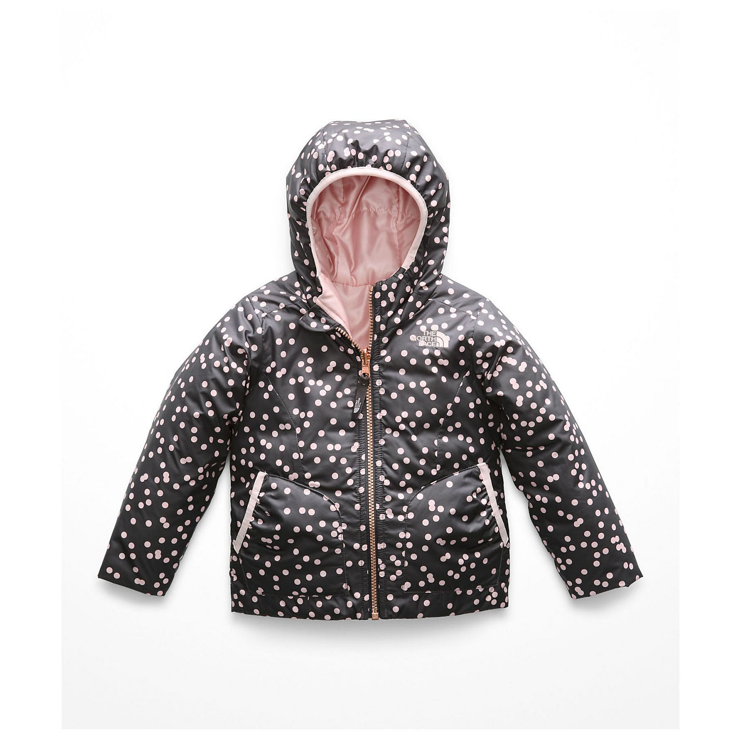 The North Face Toddler s Girls Reversible Perrito Jacket - Moosejaw 39023f340