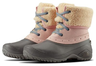 The North Face Women's Shellista Roll Down Pink Boot