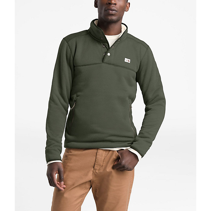 e1f1bc67c The North Face Men's Sherpa Patrol 1/4 Snap Pullover - Moosejaw