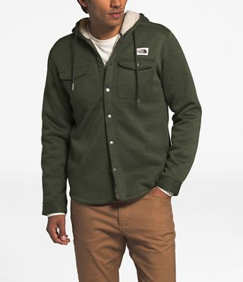 The North Face Men's Sherpa Patrol Snap-Up Hoodie
