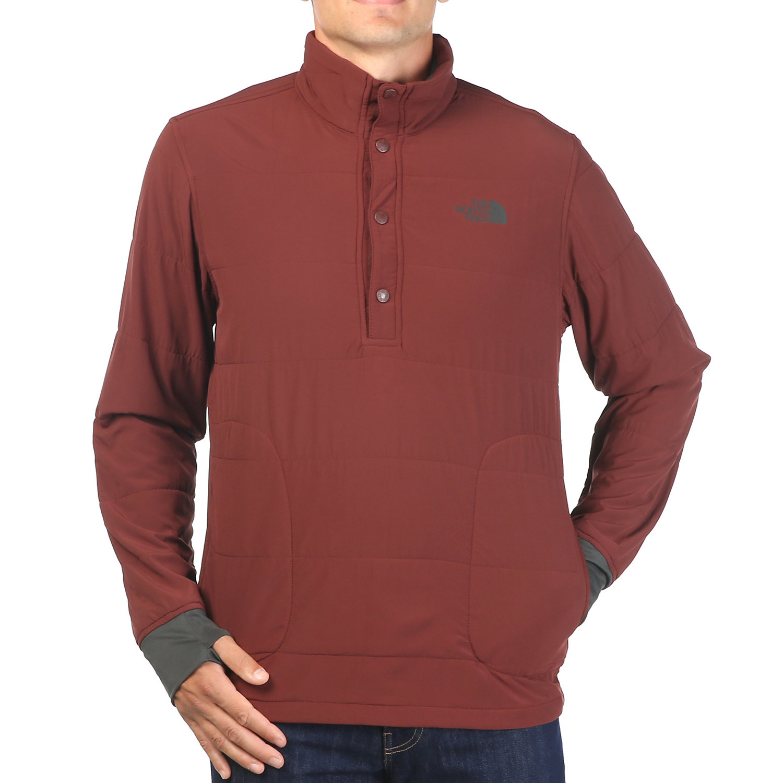 c12c94326 The North Face Men's Mountain Sweatshirt 1/4 Snap Neck Jacket