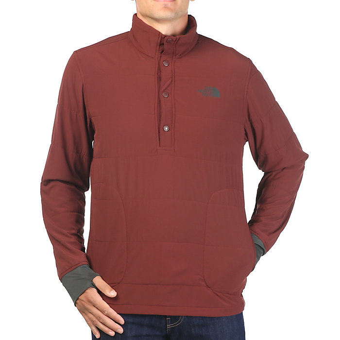 128b29aa6 The North Face Men s Mountain Sweatshirt 1 4 Snap Neck Jacket - Moosejaw