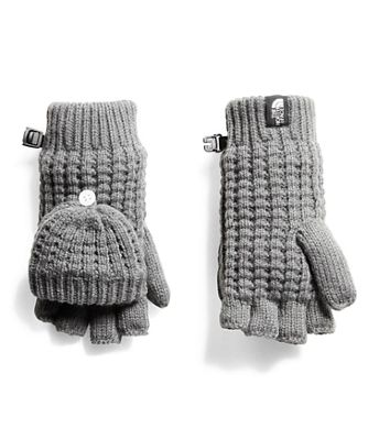 The North Face Youth Waffle Flip Mitt