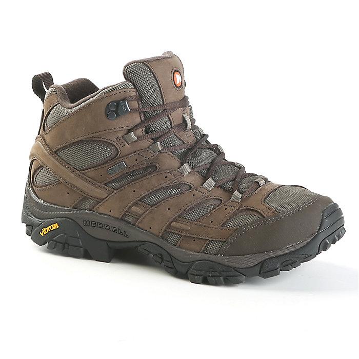 f560e5536d Merrell Men's Moab 2 Smooth Mid Waterproof Boot - Moosejaw