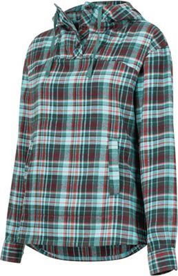 Marmot Women's Shelley MidWt Flannel LS Hoody