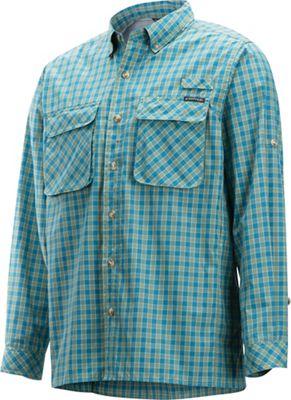 c2062f8b73578 ExOfficio Men's Air Strip Gingham LS Shirt
