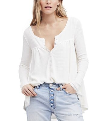 Free People Women's Kai Henley Top