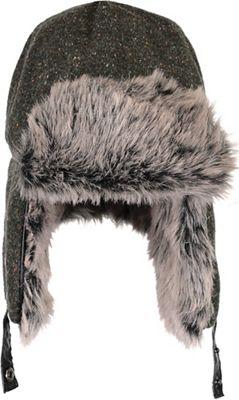 5c37e73a68b Obermeyer Trapper Knit Hat with Faux Fur Hat