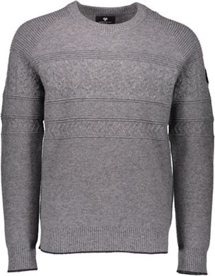 Obermeyer Men's Textured Crewneck Sweater