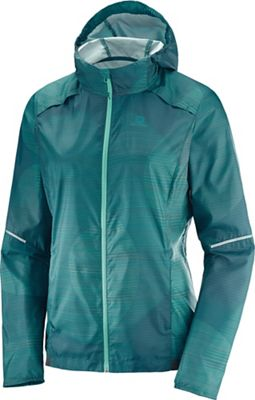Salomon Women's Agile Wind Printed Hoodie