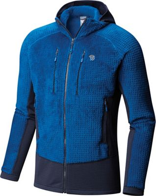 Mountain Hardwear Men's Monkey Man Grid Hooded Jacket