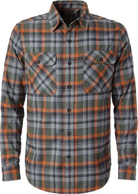 Royal Robbins Men's Performance Flannel Plaid LS Shirt