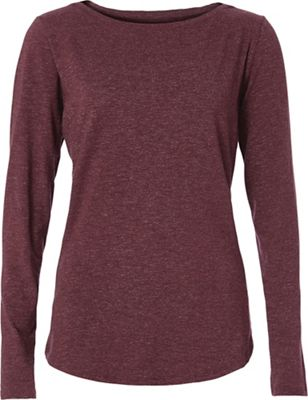Royal Robbins Women's Yosemite Slub Boat Neck LS Top