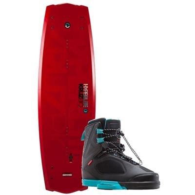 Hyperlite Kruz Bio 139cm Wakeboard with Team X Boots Package