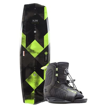 Hyperlite State 2.0 140cm Wakeboard with Remix Boots Package