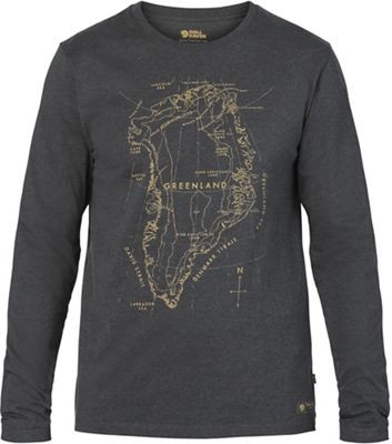 Fjallraven Men's Greenland Printed LS T-Shirt