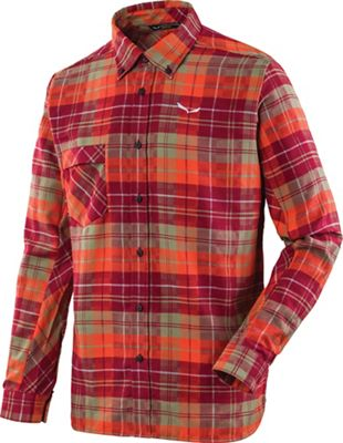 Salewa Men's Fanes Flannel 3 PL LS Shirt