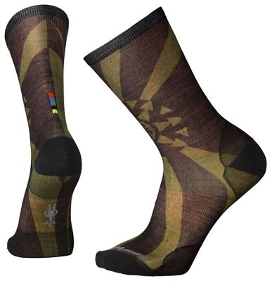 Smartwool Men's Goldflake Printed Crew Sock