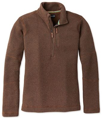 Smartwool Men's Hudson Trail Fleece Half Zip Sweater