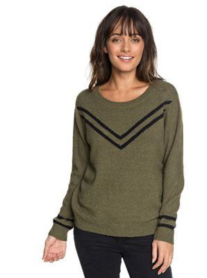 Roxy Women's Town Crew Neck LS Top