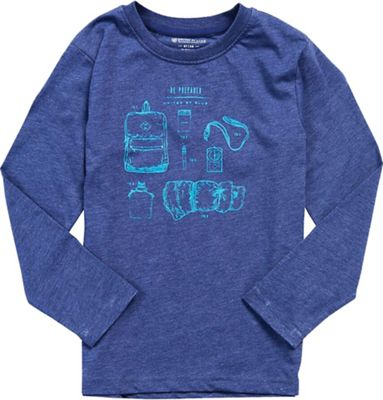 United By Blue Kids' Camp Gear LS Tee