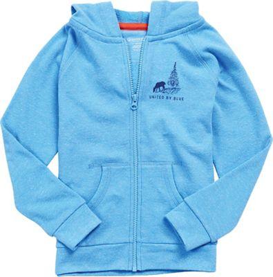 United By Blue Kids' Mountain River Zip Up Hoodie