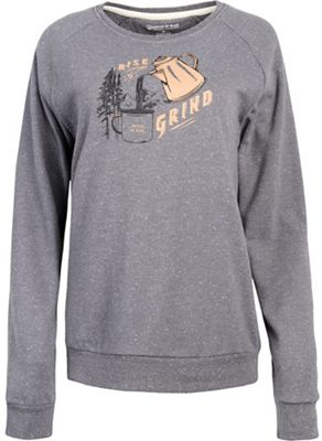 United By Blue Women's Rise & Grind Crew Pullover