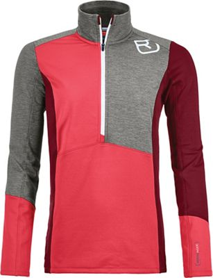 Ortovox Women's Fleece Light Zip Neck Top