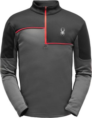 Spyder Men's Charger Zip T Neck Top