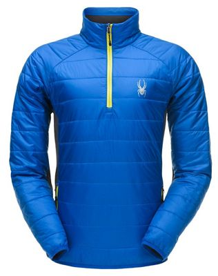 Spyder Men's Glessade Half Zip Insulator Jacket
