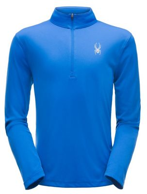 Spyder Men's Limitless Solid Zip T Neck Top