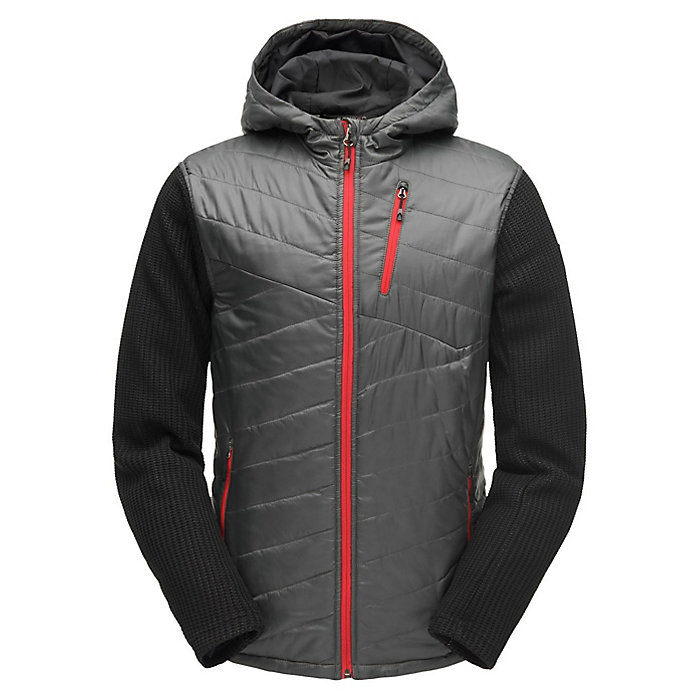 Spyder Mens Ouzo Full Zip Stryke Jacket Athletic-Sweaters