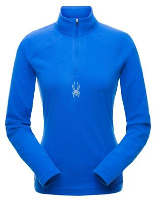 Spyder Women's Shimmer Zip T-Neck Top